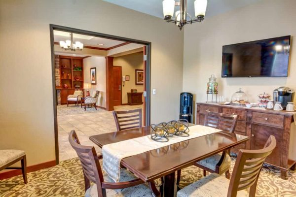 Catalina Springs Memory Care private dining room