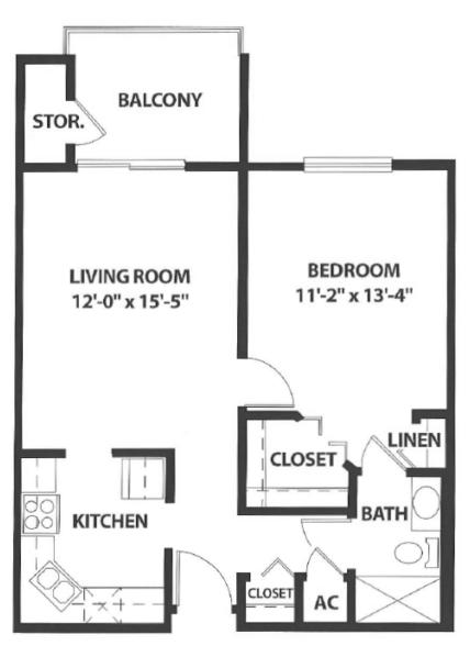 Sierra Winds floor plan 4