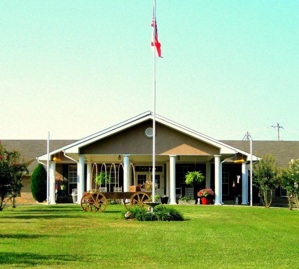 Cherokee County Health and Rehabilitation Center building entrance