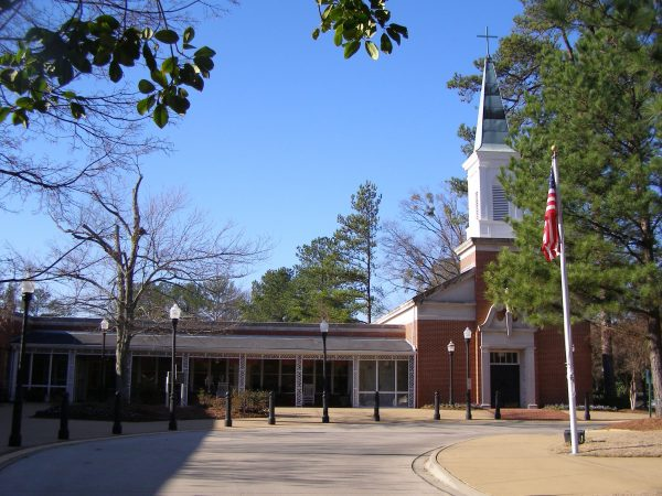 St. Martin's in the Pines building exterior