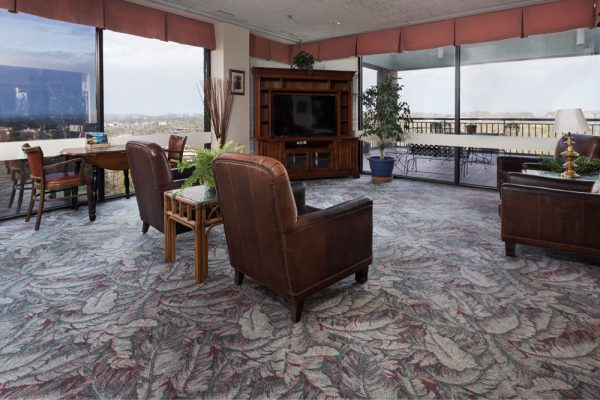 Mount Royal Towers resident lounge