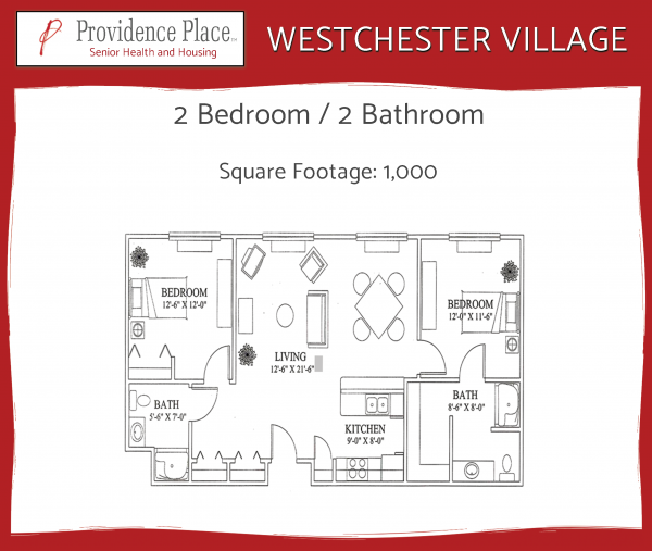 Westchester Village at Providence Place townhome 3 floor plan
