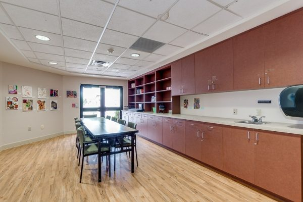 Activity and craft room in Hawthorn Court at Ahwatukee