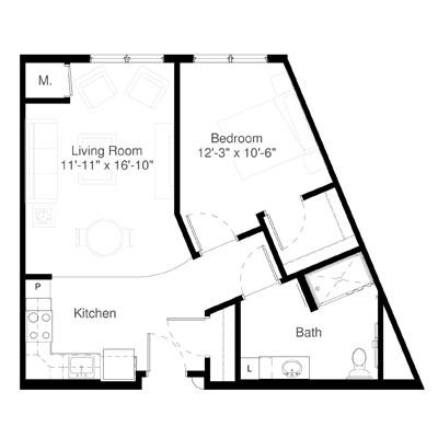 SilverCreek on Main floor plan 6