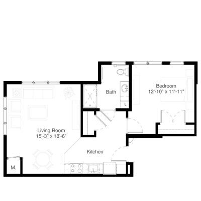 SilverCreek on Main floor plan 5