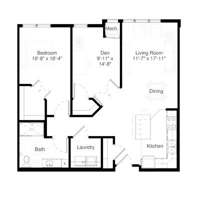 SilverCreek on Main floor plan 4