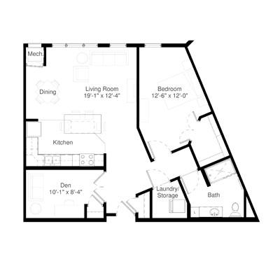 SilverCreek on Main floor plan 3