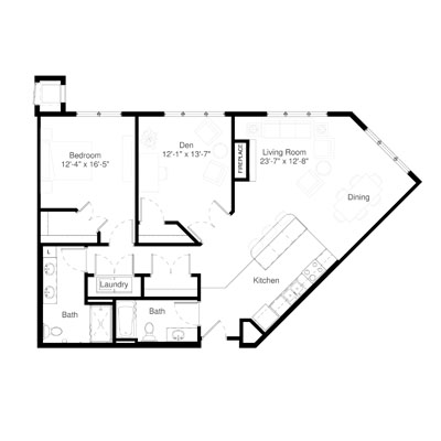 SilverCreek on Main floor plan 2