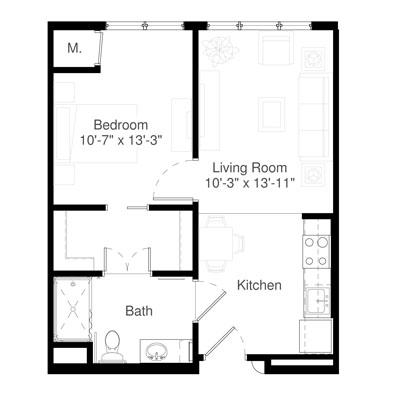 SilverCreek on Main floor plan 10