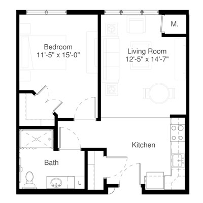 SilverCreek on Main floor plan 9