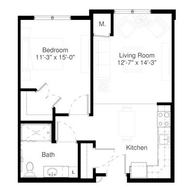 SilverCreek on Main floor plan 8