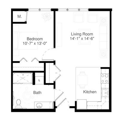 SilverCreek on Main floor plan 7