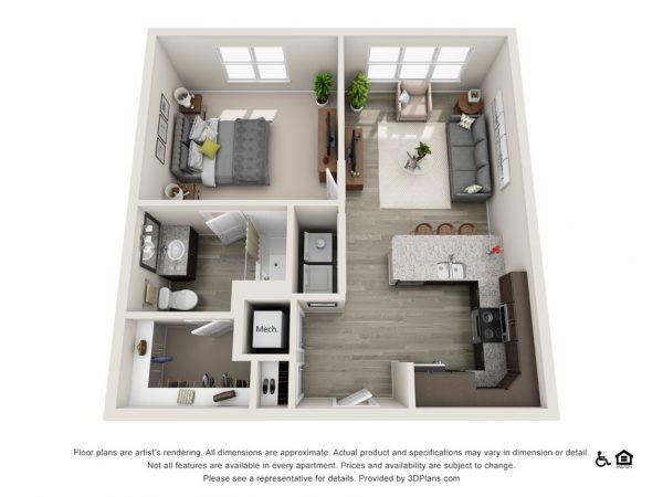The Grahm floor plan at Belvedere at Berewick