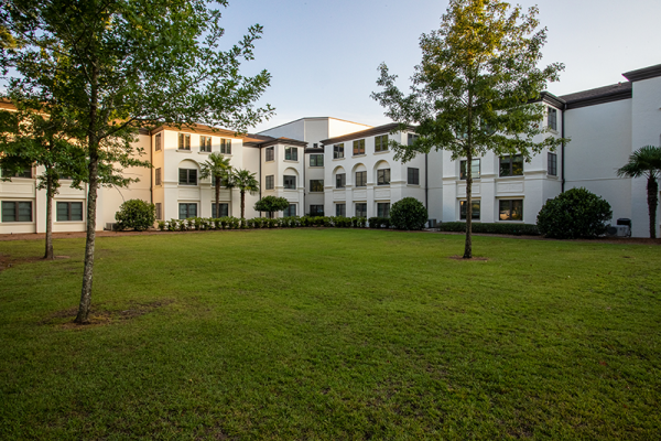 The grounds of Westminster Village