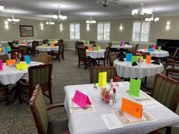 Main dining room in Summer Village