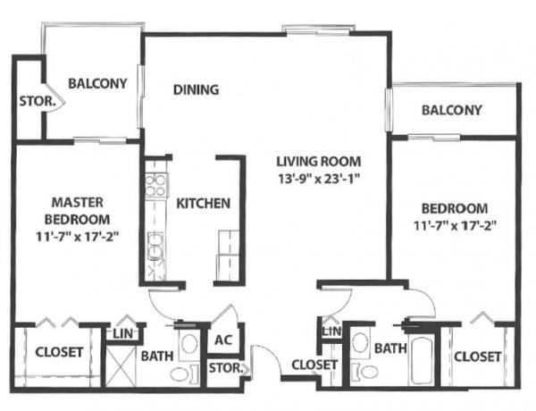 Sierra Winds floor plan 5