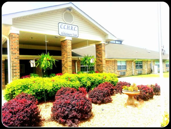 Cherokee County Health and Rehabilitation Center Alzheimer's unit building front