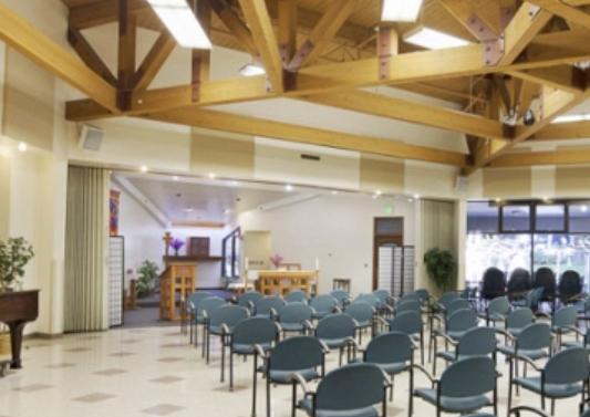 Mercy Retirement & Care Center community chapel
