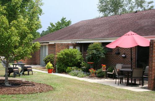 The Methodist Oaks patio home exterior