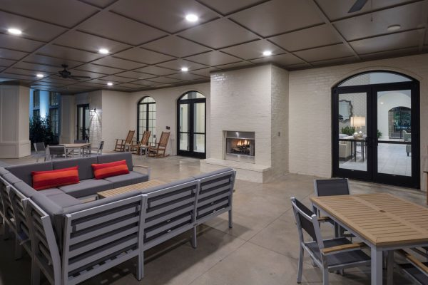 The Blake at Malbis resident lobby and gathering space