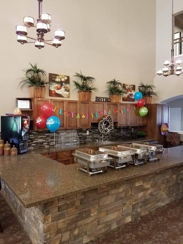 Sierra Del Sol Memory Care breakfast bar