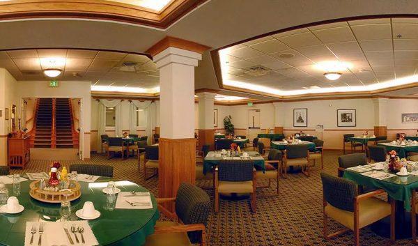 Skyline Place dining room