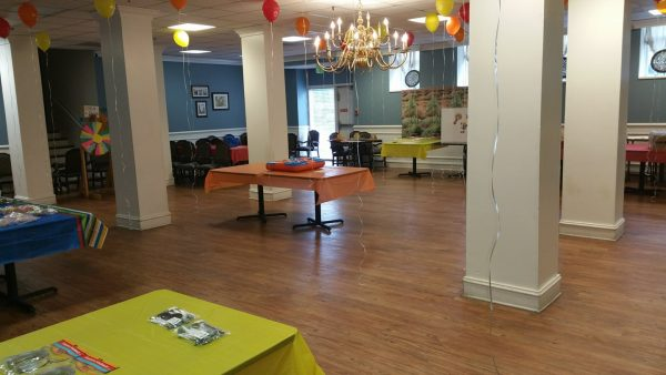 Greenbriar at the Altamont community activity room