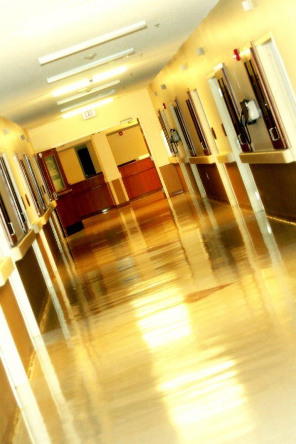 Cherokee County Health and Rehabilitation Center interior hallway