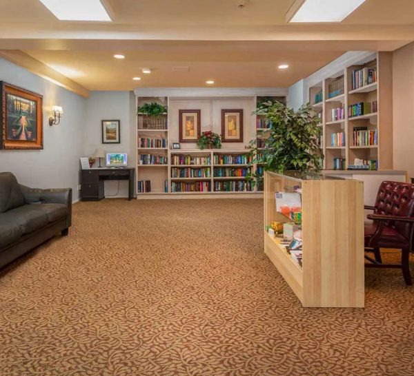 Olive Grove Retirement Community library