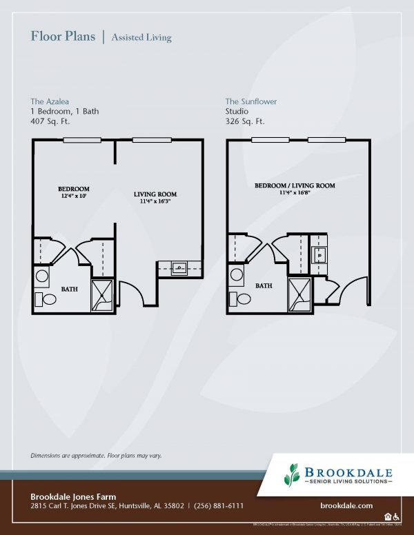 Brookdale Place at Jones Farm floor plan
