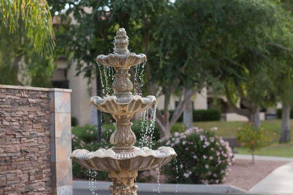 Sierra Winds water fountain