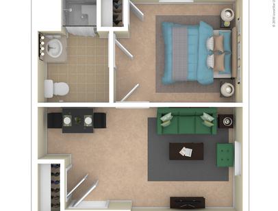 Autumn Cove floor plan B
