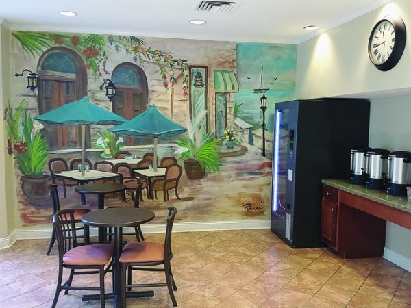 Cromwell House Apartments snack bar