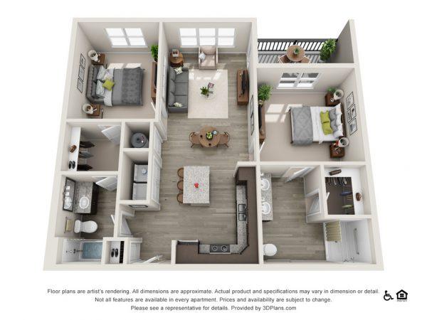 The Stewart floor plan at Belvedere at Berewick
