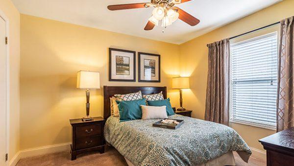 Morningside of Vestavia Hills model bedroom apartment