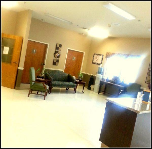 Cherokee County Health and Rehabilitation Center common area