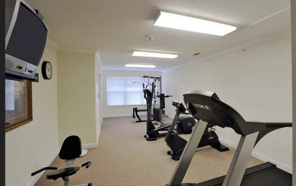 The Meadows at Brier Creek community fitness center