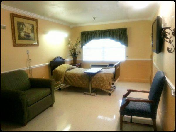 Model room in Cherokee County Health and Rehabilitation Center