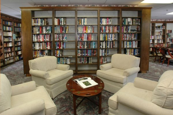 Community library in Mount Royal Towers