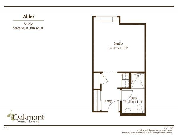 Oakmont of Las Vegas Alder floor plan