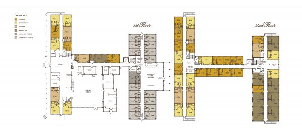 Alexander Guest House Senior Living building floor plan