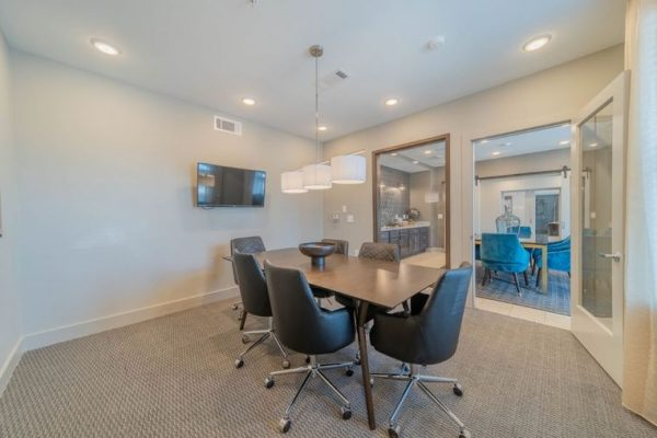 Retirement community conference room