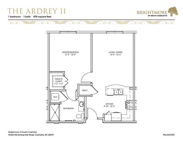 Brightmore of South Charlotte floor plan 2