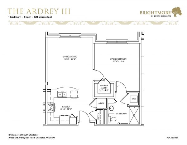 Brightmore of South Charlotte floor plan 3