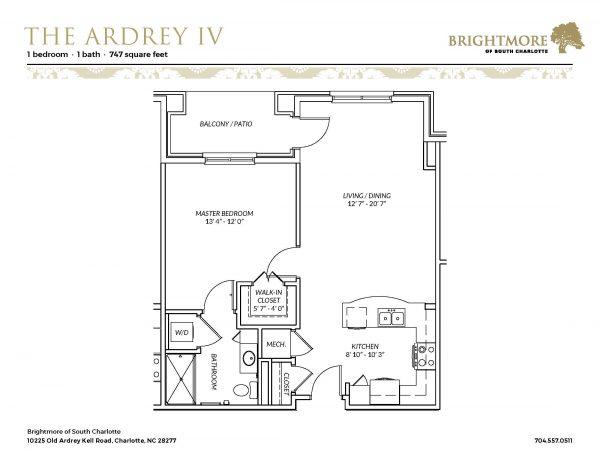 Brightmore of South Charlotte floor plan 4