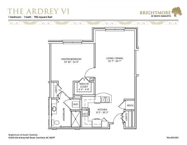 Brightmore of South Charlotte floor plan 7