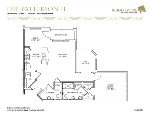 Brightmore of South Charlotte floor plan 9