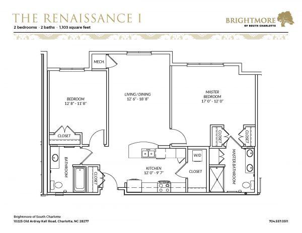 Brightmore of South Charlotte floor plan 12