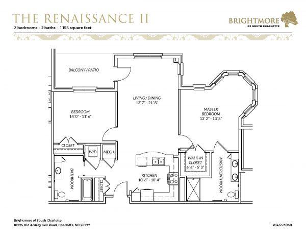 Brightmore of South Charlotte floor plan 14