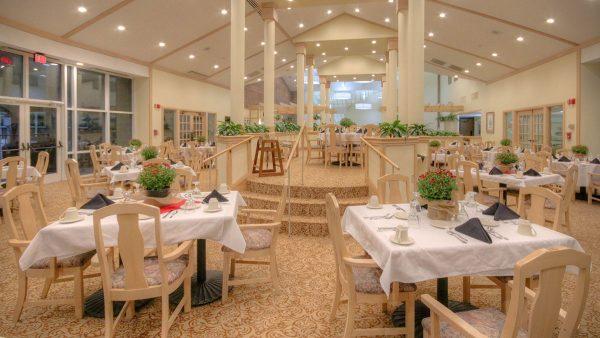 Brookridge Retirement Community community dining room